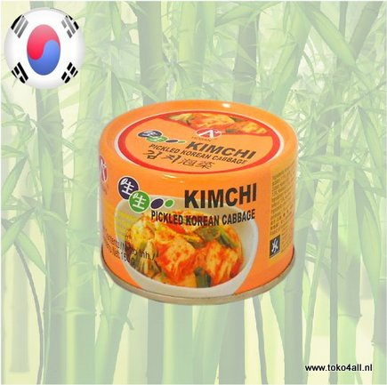 Toko 4 All - Kimchi Pickled Korean Cabbage 160 gr Hosan