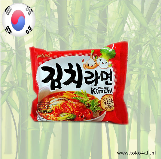 Toko 4 All - My Little Philippines - Kimchi Ramen Noodle Soup 120 gr Samyang