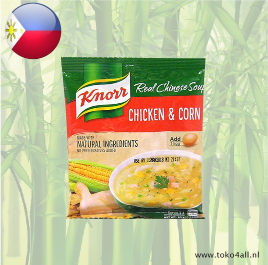 Toko 4 All - Knorr Chicken Corn Soup 60 gr