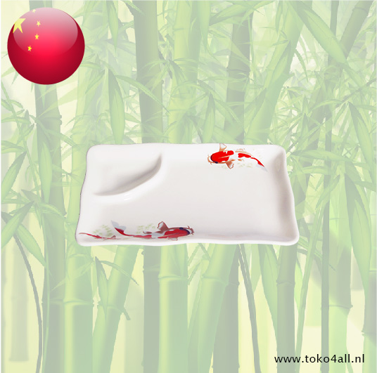 Toko 4 All - Koi Carp Sushi Plate with sauce cup