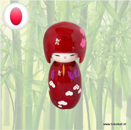 Toko 4 All - Kokeshi doll Burgundy