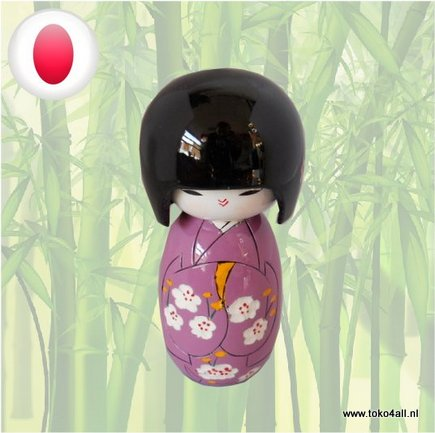 Toko 4 All - Kokeshi doll Purple
