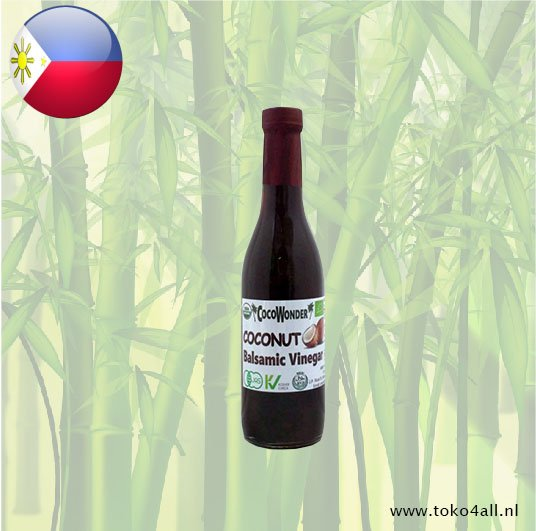 Toko 4 All - Kokosnoot Balsamic Azijn 375 ml Coco Wonder