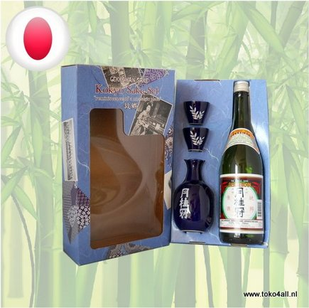 Toko 4 All - Kokyo Sake Set 750 ml Gekkeikan