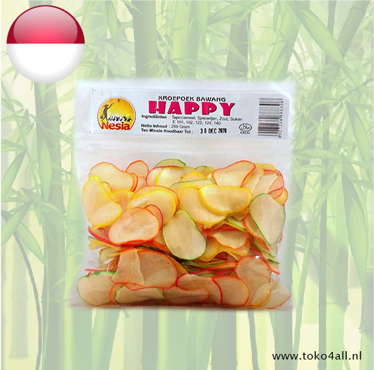 Toko 4 All - My Little Philippines - Krupuk Bawang Happy 250 gr Nesia