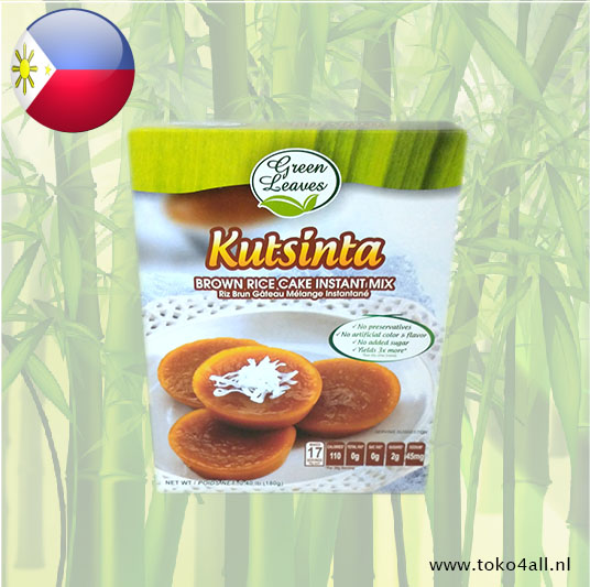 Toko 4 All - Kutsinta Filipino Native cake 180 gr Green Leaves