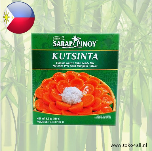 Toko 4 All - Kutsinta Filipino Native cake 180 gr Sarap Pinoy