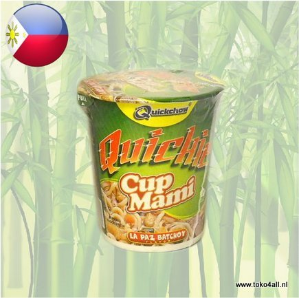 Toko 4 All - La Paz Batchoy Cup Mami 50 gr Quickchow