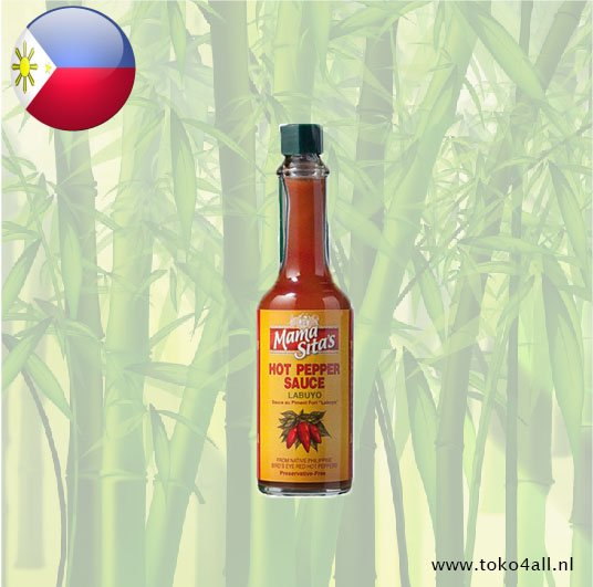 Toko 4 All - Labuyo Hot Pepper Sauce 60 ml Mama Sita