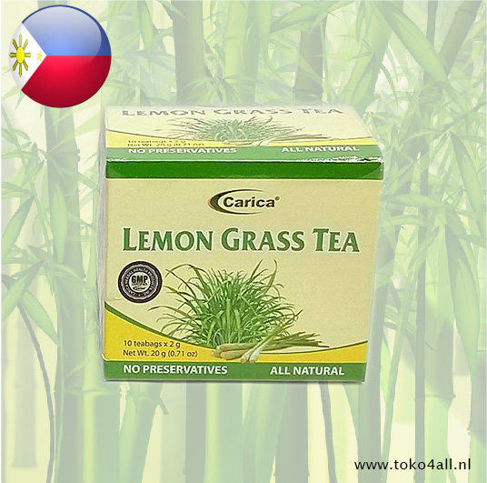 Toko 4 All - Lemon Grass Tea 20 gr Carica