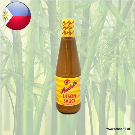 Toko 4 All - My Little Philippines - Litson All Purpose Saus Regular 560 gr Andoks