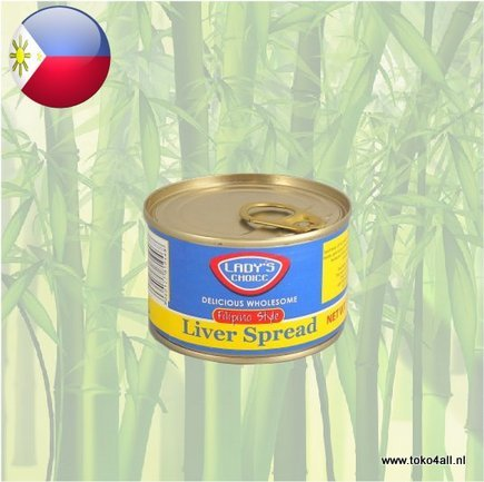 Toko 4 All - Liver Spread Filipino Style 165 gr Ladys Choice
