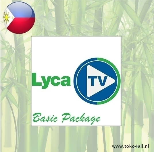 Toko 4 All - Lyca TV Philippines Basic Package 1 Month