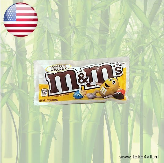 Toko 4 All - M & M White chocolate peanut filling 38 gr