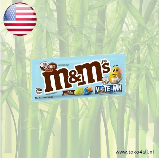 Toko 4 All - M&M with Thai Coconut Peanut filling 49.3 gr