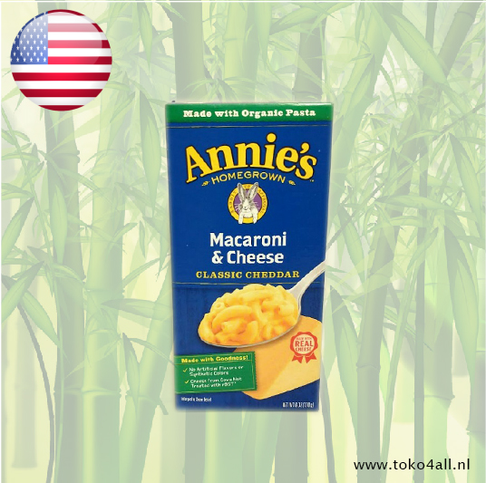 Toko 4 All - Macaroni & Cheese 170 gr Annies