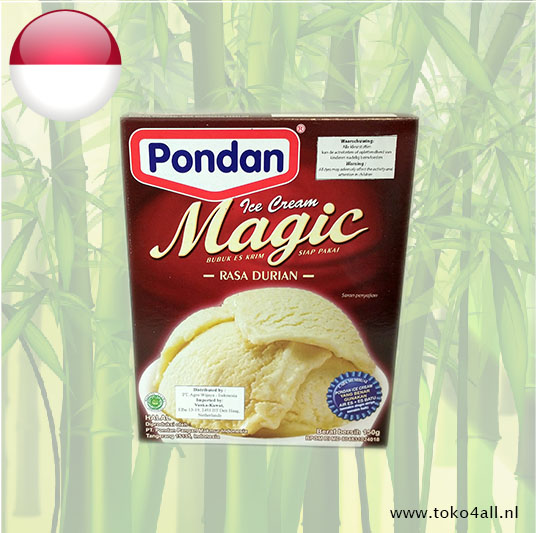 Toko 4 All - Magic Ice Cream Durian 150 gr Pondan