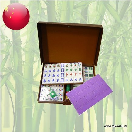 Toko 4 All - Mahjong Set Maat 7,5 - Paars