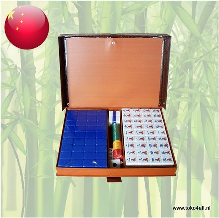 Toko 4 All - Mahjong Set Size 7,5 - Blue