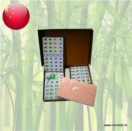 Toko 4 All - Mahjong Set Size 7,5 - Pink