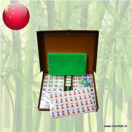 Toko 4 All - Mahjong Set Size 8 - Green