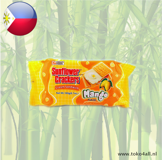 Toko 4 All - Mango Cream Sandwich 190 gr Sunflower Crackers