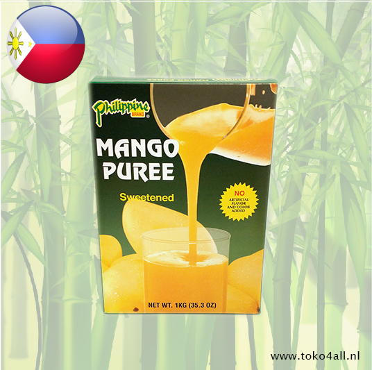 Toko 4 All - Mango Puree Gezoet 1 kilo Philippine Brand