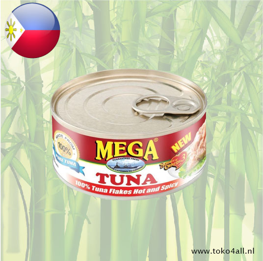 Toko 4 All - Mega Tuna Flakes Hot and Spicy 180 gr Mega