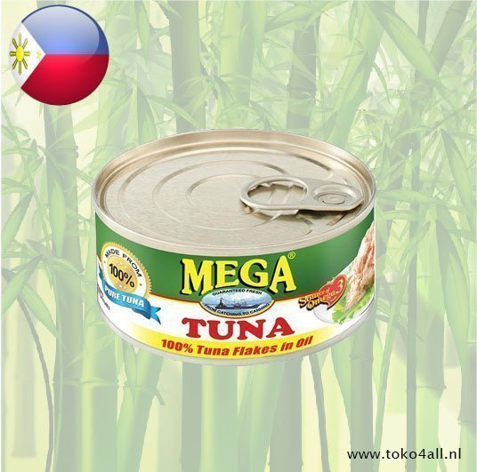 Toko 4 All - My Little Philippines - Mega Tuna Flakes in oil 180 gr Mega