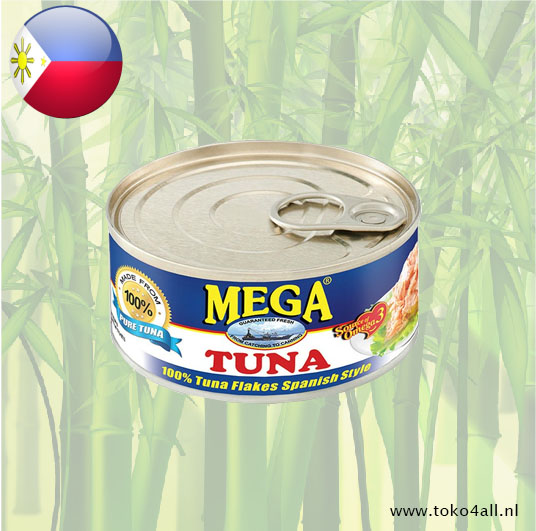 Toko 4 All - Mega Tuna Flakes Spanish Style 180 gr Mega