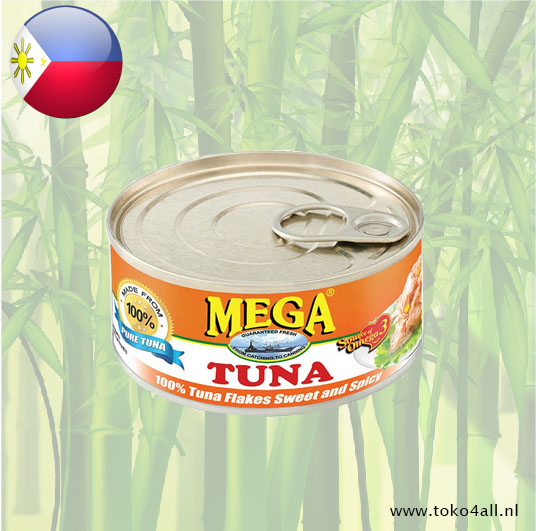 Toko 4 All - Mega Tuna Flakes Sweet and Spicy 180 gr Mega
