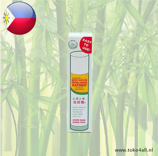 Toko 4 All - Methyl Salicylate Menthol + Camphor stick 10 gr Katinko