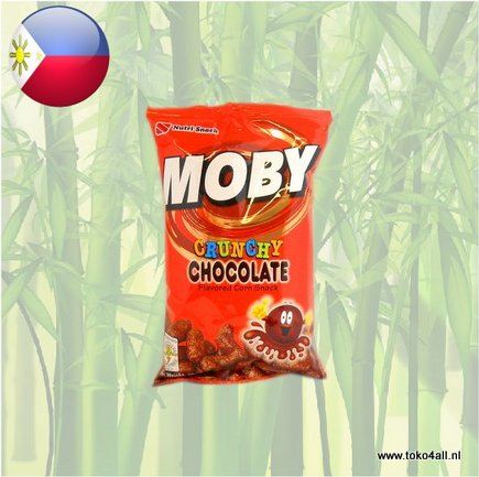 Toko 4 All - Moby Crunchy Chocolate 60 gr Nutri Snack