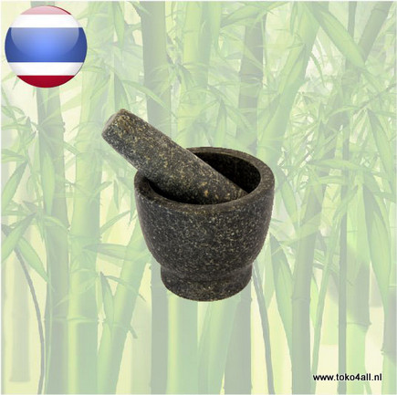 Toko 4 All - Mortar and Pestle 10 cm Oriental Specialities