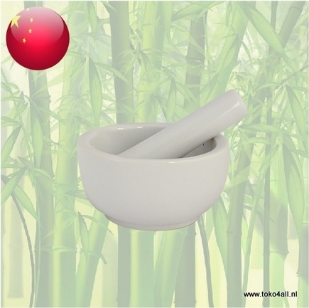 Toko 4 All - Mortar and Pestle 10 cm porcelain