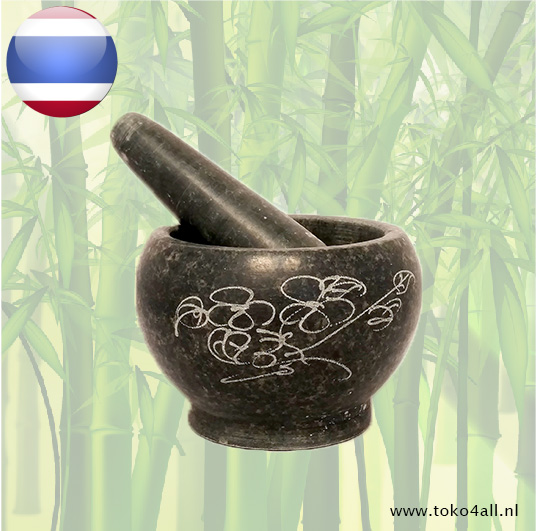 Toko 4 All - Mortar and Pestle 13 cm Oriental Specialities