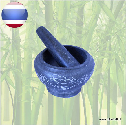 Toko 4 All - Mortar and Pestle 16 cm Oriental Specialities