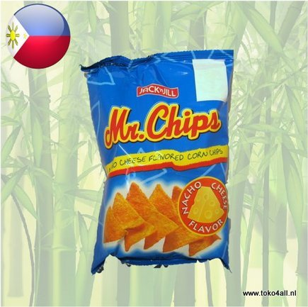 Toko 4 All - Mr Chips Nacho Cheese 100 gr Jack N Jill