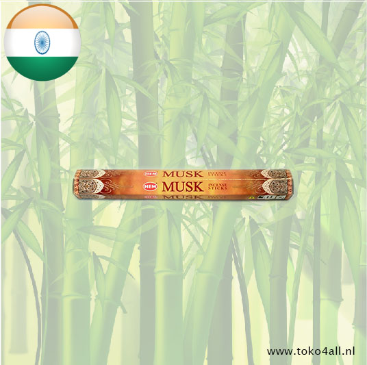 Toko 4 All - Musk Incense Sticks 20 sticks Hem