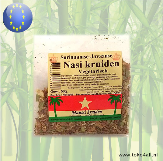 Toko 4 All - Nasi Spice Mix 50 gr Maussi Kruiden