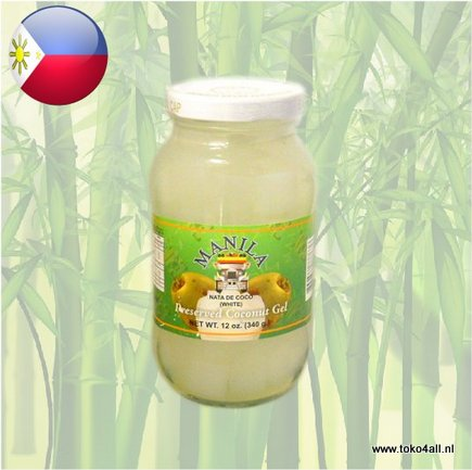 Toko 4 All - My Little Philippines - Nata De Coco White 340 gr Manila