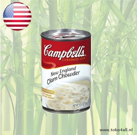 Toko 4 All - New England Clam Chowder 298 gr Campbells