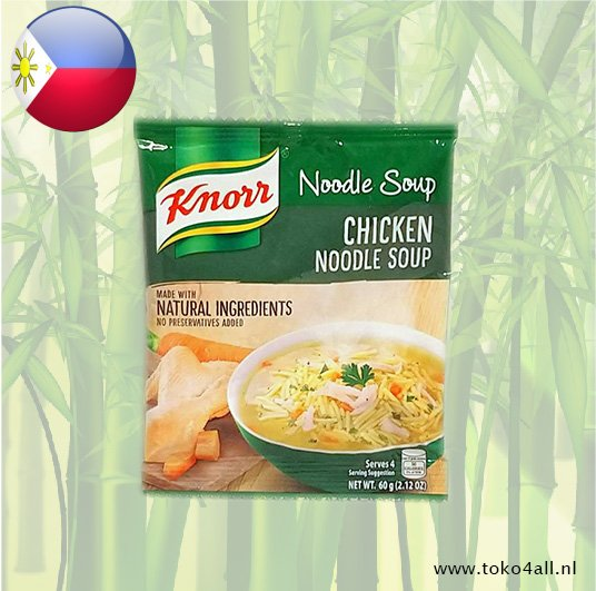 Toko 4 All - Chicken Noodle Soup 60 gr Knorr