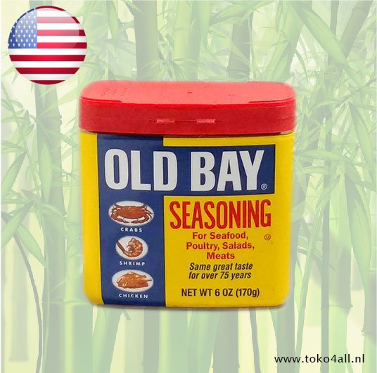 Toko 4 All - My Little Philippines - Old Bay Seasoning 170 gr McCormick
