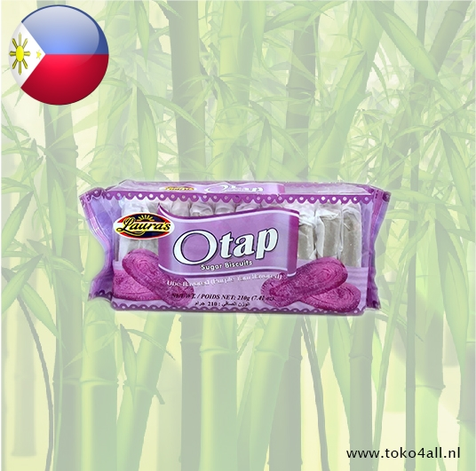 Toko 4 All - Otap Biscuits Ube 210 gr Laura