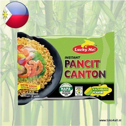 Toko 4 All - My Little Philippines - Pancit Canton Calamansi 60 gr Lucky Me
