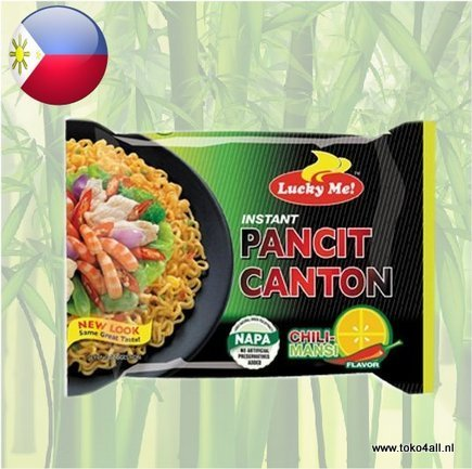 Toko 4 All - My Little Philippines - Pancit Canton Chili 80 gr Lucky Me