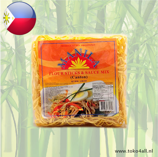 Toko 4 All - Pancit Canton Noodles with mix 267 gr Manila