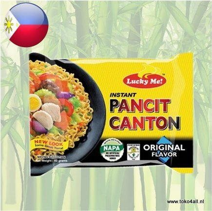 Toko 4 All - Pancit Canton Original 60 gr Lucky Me