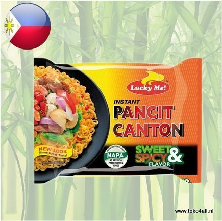 Toko 4 All - Pancit Canton Sweet and Spicy 60 gr Lucky Me